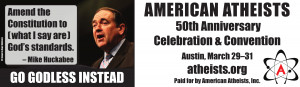 ... Two More Billboards in Texas, Featuring Rick Perry and Mike Huckabee
