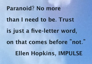 impulse by ellen hopkins Read a free sample or buy impulse by ellen hopkins you can read this book with ibooks on your iphone, ipad, ipod touch, or mac.