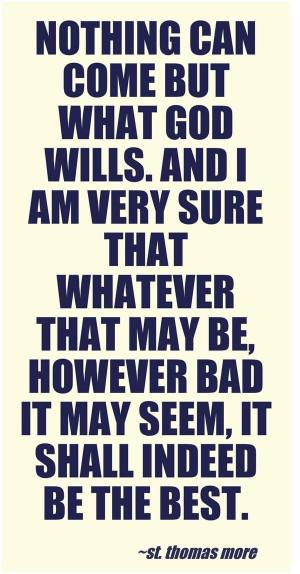 St. Thomas More quote