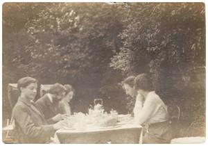 ... Strachey, Lady Ottoline Morrell, Philip Edward Morrell & Maria Huxley