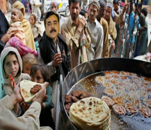 Pakistani Political Leader With People Funny Image