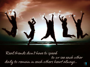 Real Friend Don't have to speak to or see other daily to remain each ...