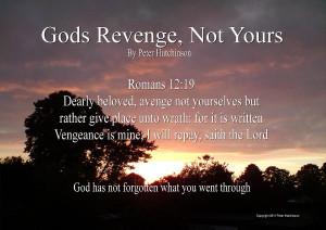 Is Bible Verses About Gods Revenge