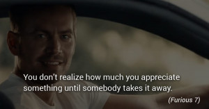 Quotes Fast and Furious Series
