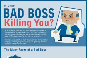 bad boss characteristics is your bad boss killing you