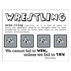 wrestling more wrestling life stickers minis wrestling sports life ...