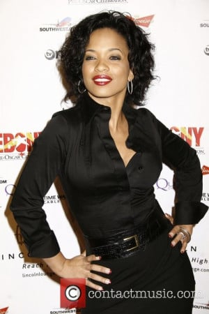 Karrine Steffans Thursday 21st February 2008 Ebony Pre Oscar