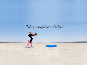 -quote-on-stupidity-and-the-picture-of-jumping-woman-humorous-quotes ...