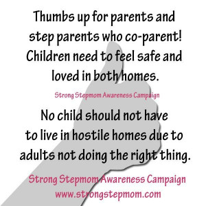 Co parent with out damaging your children