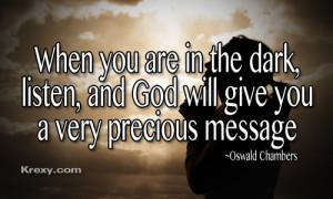 Sometimes God answers a prayer that hasn't been spoken yet.