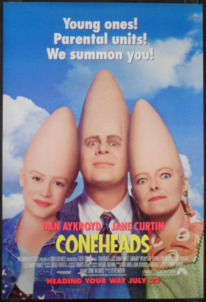 Speculative Fiction Saturday: The Coneheads, and it isn't good