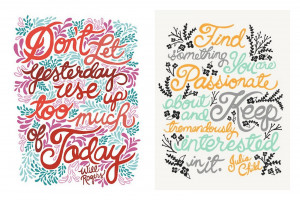 Monday Motivation :: Quotes Made Pretty By Unraveled Design