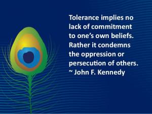 Sunday Quotes – Tolerance