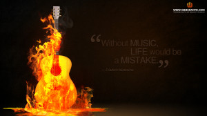 Rock Music Quotes Wallpaper
