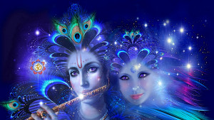Krishna and Radha are the incarnations of Vishnu and Lakshmi and of ...
