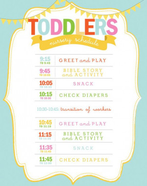 Wall Art, Printables Nurseries, Classroom Schedule, Daycare Schedule ...