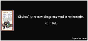 Bell Quote