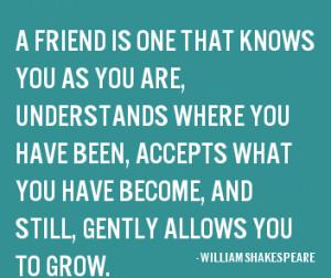 Friend Famous William Shakespeare Quotes