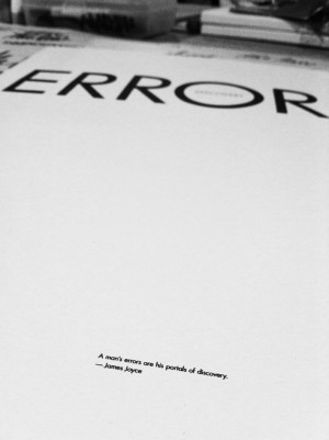 man's errors are his portals of discovery. #words #quote # ...