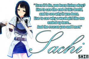 Sachi's Famous Quote Picture