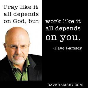 Dave Ramsey.