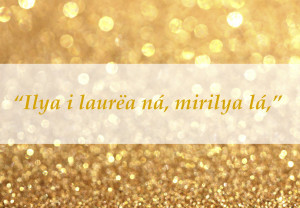 """All that is gold does not glitter."""""""