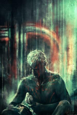 : Soliloquy por alicexz, Fan-Art de Blade Runner! :) I've… seen ...