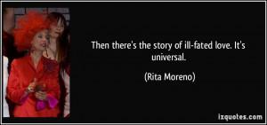 More Rita Moreno Quotes