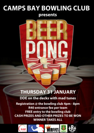 Camps Bay Bowling Club Beer Pong League