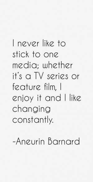 View All Aneurin Barnard Quotes