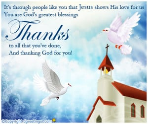 Religious Thank You Quotes