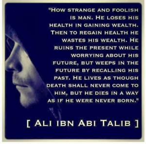 Sayings of Imam Ali a.s