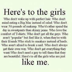 Proud to say I'm not perfect! More