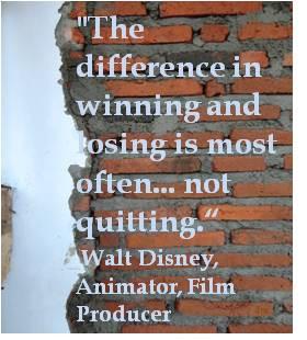 ... Inspirational quotes self improvement by Walt Disney, Animator, film