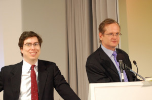 File:Jonathan Zittrain and Lawrence Lessig (Google DC, March 20 2008