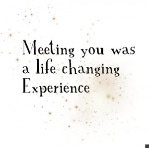 experience, life, love, meeting, sparkle, stars, you