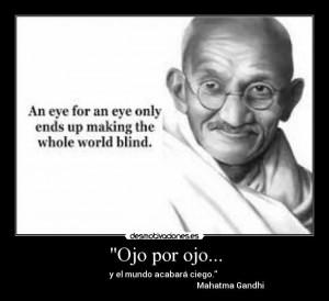 Evil Gandhi