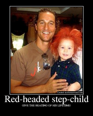 Red-headed step-child