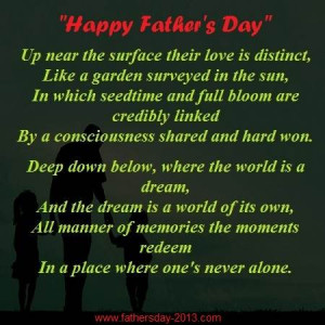 Happy Father's Day 2015 Poems, Poetry with Images, Pictures
