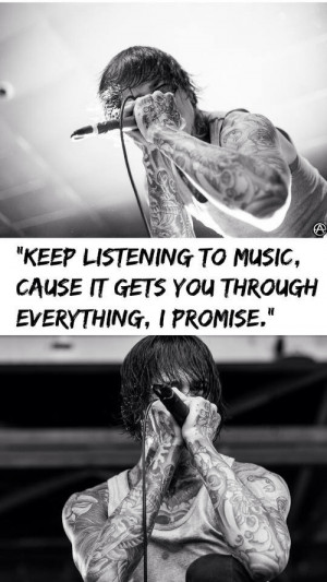 suicide silence mitch lucker quotes