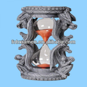 Medieval Dragon Hourglass Sandtimer Decor