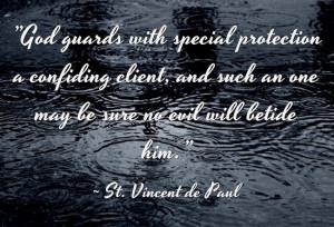 St. Vincent de Paul...