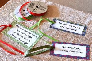 Gift Ideas With Cute Sayings for Christmas