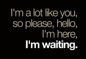 hello, please, text, waiting
