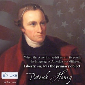 Patrick Henry Quotes