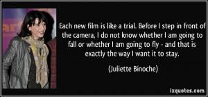 More Juliette Binoche Quotes