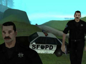 grand theft auto cop