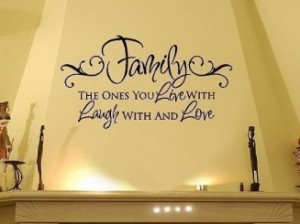 Family Wall Decals - Live Laugh Love Vinyl Wall Decal Quote Lettering ...