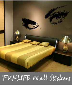 ... bedroom wall sticker decal stencil art 80 x 150 cm(China (Mainland
