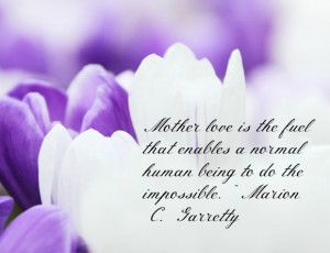 Mother's Day Quotes: Mother's Love
